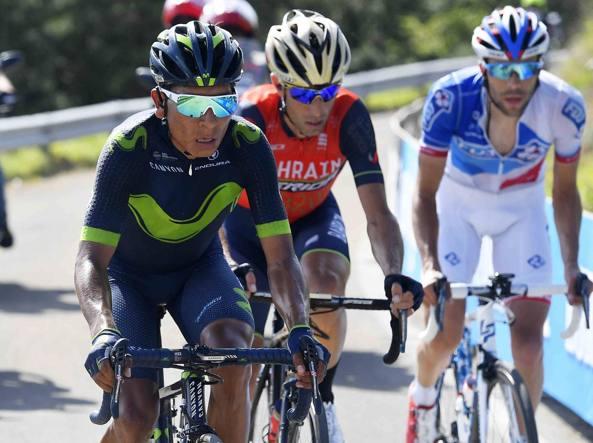 Sfidanti Nairo Quintana, Vincenzo Nibali e Thibaut Pinot (LaPresse)