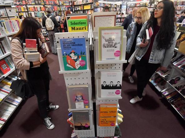 Un'immagine dalla rassegna dell'editoria di Milano «Tempo di Libri»