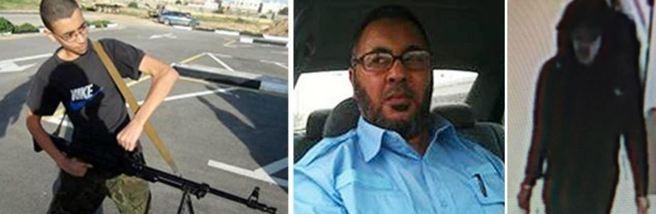 Il più giovane dei fratelli Abedi, il padre dei ragazzi, anche lui arrestato a Tripoli, e il kamikaze prima dell'attacco