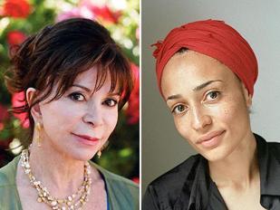 Isabel Allende (a sinistra) e Zadie Smith