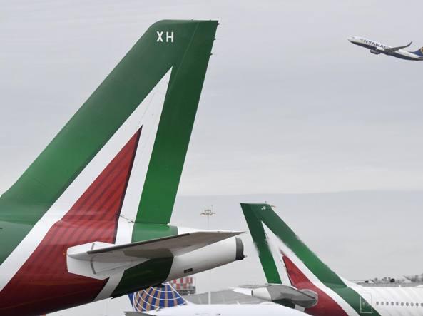Alitalia, cassa integrazione straordinaria per 1.358 dipendenti
