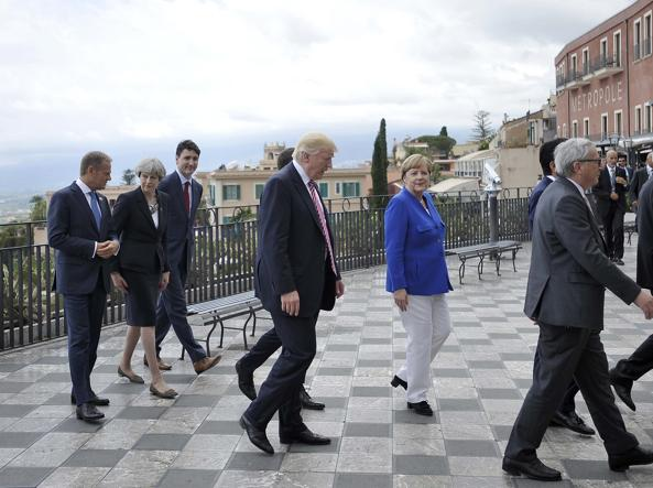 G7 Taormina, si cerca la strada della mediazione