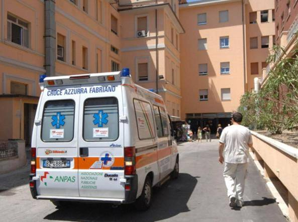 Un'ambulanza in una foto di repertorio