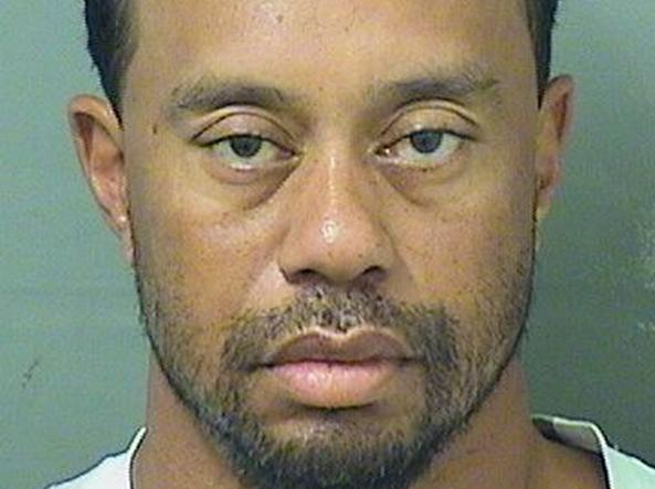 Tiger Woods, il golfista arrestato in Florida: