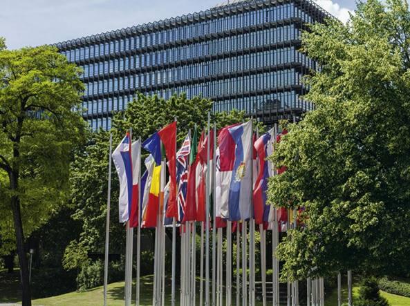 La sede dell'European Patent Office a Monaco di Baviera