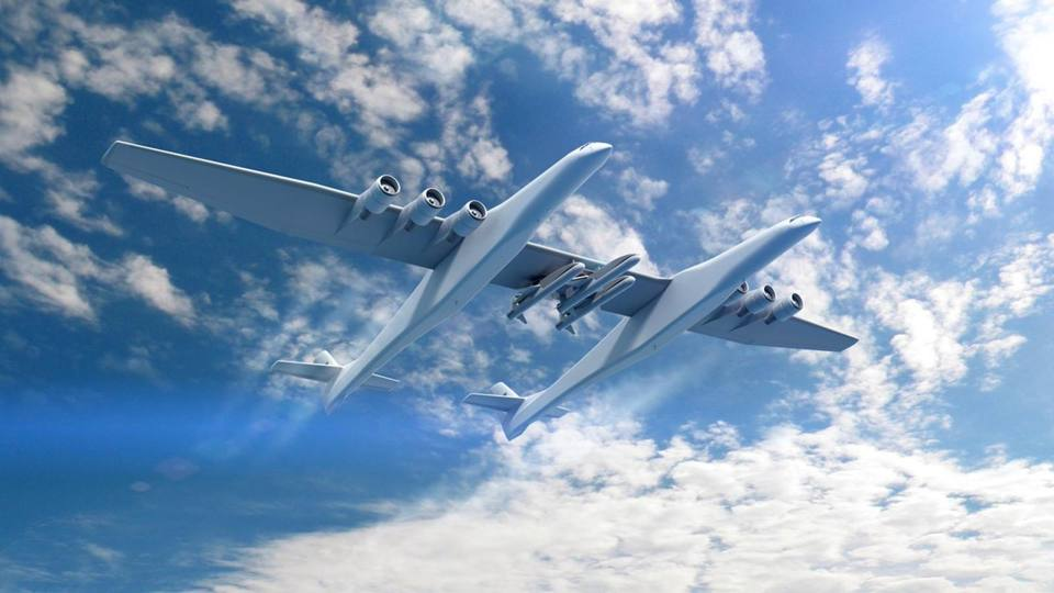 YOUTUBE L'aereo più grande del mondo: ha un'apertura alare di 117 metri