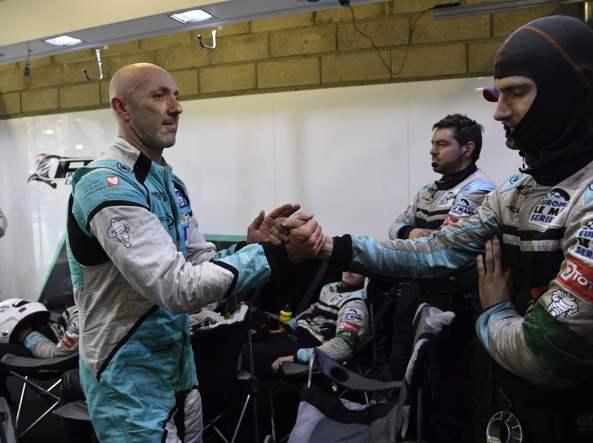 Fabien Barthez alla 24 ore di Le Mans (Afp)