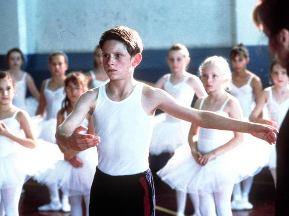 Un'immagine del film «Billy Elliot» (Ansa)