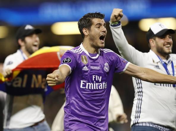 Alvaro Morata, 24 anni, attaccante del Real deve decidere se accettare l'offerta del Milan (Reuters)