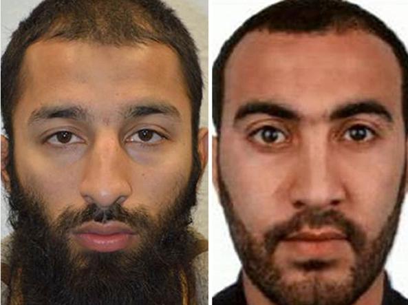 Gli altri due attentatori di Londra: Khuram Butt e Rachid Redouane