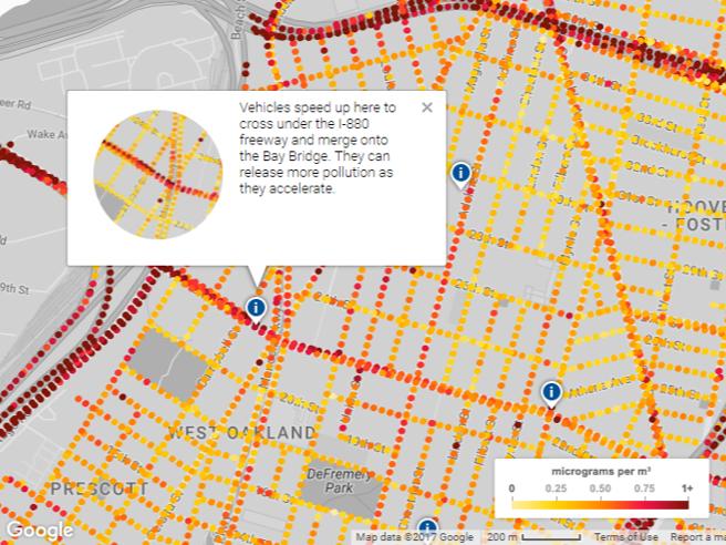 Google va a caccia di smog: Street View mostrerà i livelli d'inquinamento