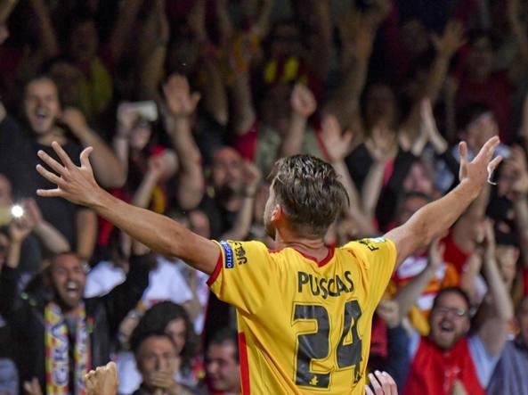 Puscas autore del gol vittoria contro il Carpi (Lapresse)