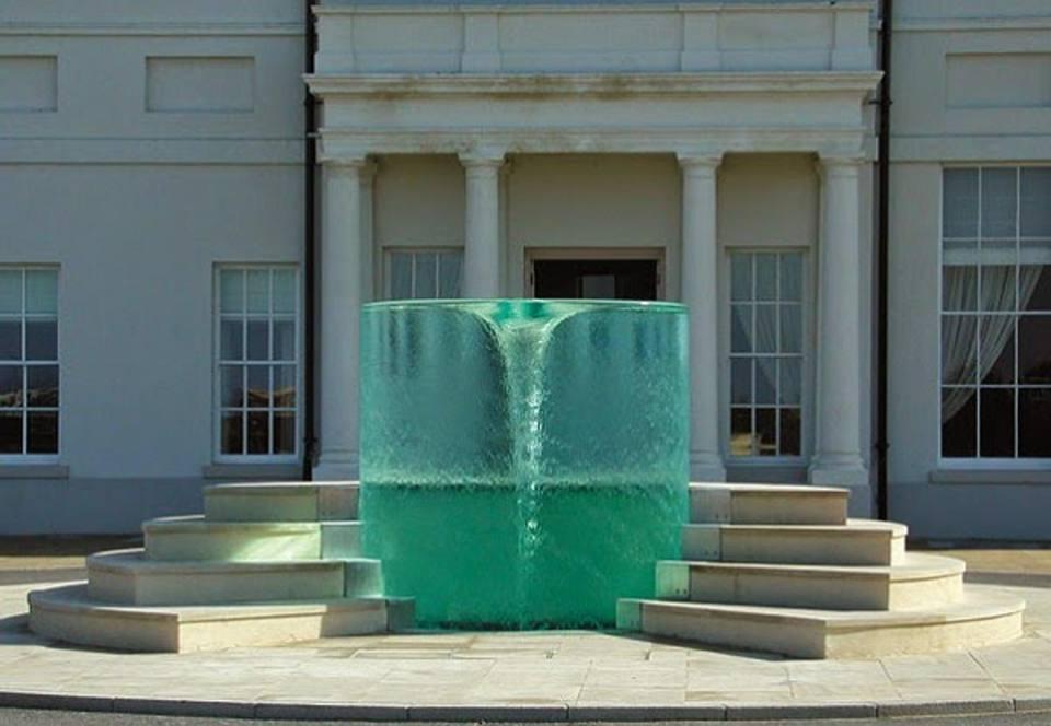 La «fontana vortice» a Sunderland