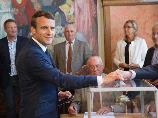 L'ondata dei  debuttanti  di Macron