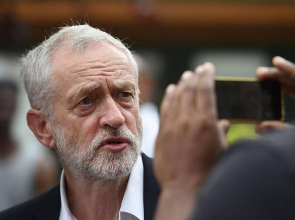 Il leader laburista britannico Jeremy Corbyn (LaPresse)