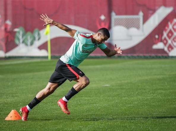 Cristiano Ronaldo, impregnato nella Confederations Cup con la Nazionale portoghese (Epa)