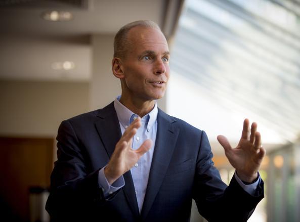 Dennis Muilenburg, 53 anni, amministratore delegato e presidente di Boeing Company
