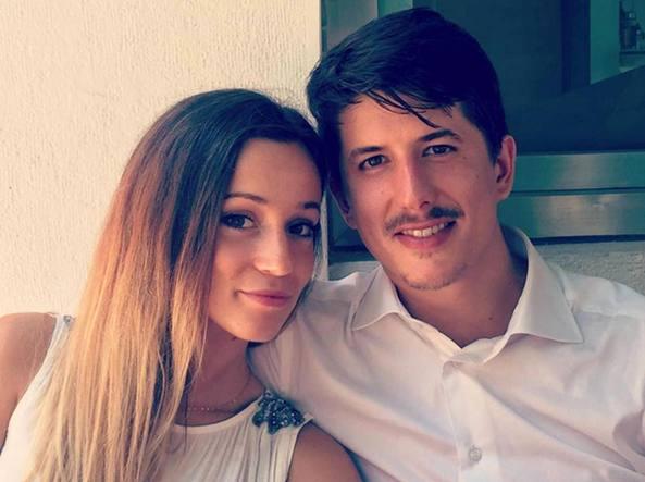 Gloria Trevisan e Marco Gottardi (Ansa)