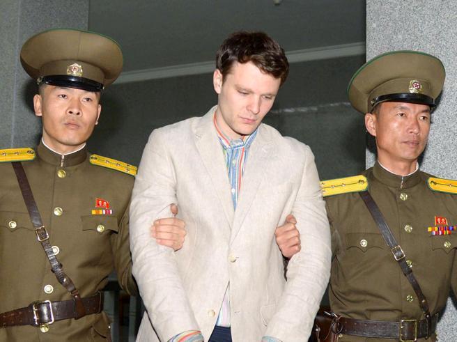 Nord Corea |  morto lo studente Usa condannato a 15 anni e liberato pochi giorni fa Foto