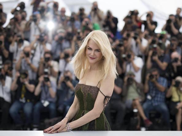 L'attrice a Cannes (Epa)