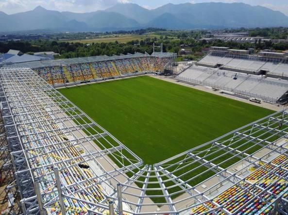 Lo stadio di Frosinone