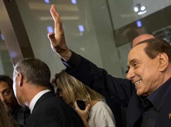 Berlusconi, mai pensato di governare con Renzi