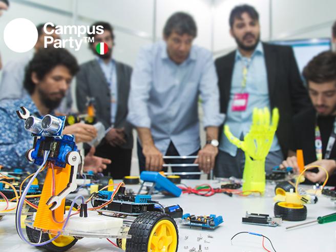 Campus Party sbarca in ItaliaLa 4 giorni dedicata all'innovazione