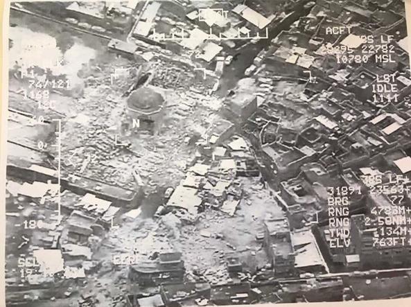 Distrutta la Moschea di Mosul in cui nacque il Califfato