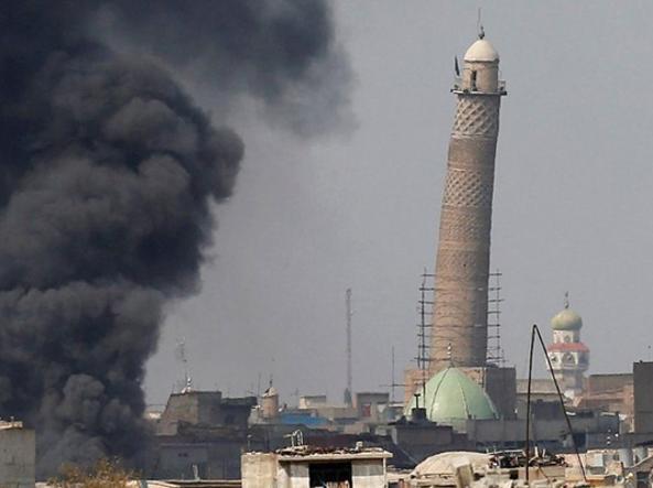 Iraq, distrutta la moschea dove Baghdadi proclamò il califfato