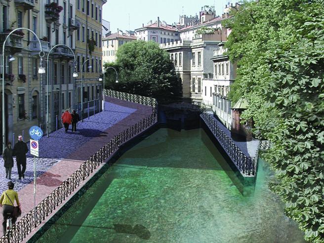 Apertura Navigli, arriva il tunnel:  «Tra pochi mesi   il referendum»Il futuro di Milano: il video