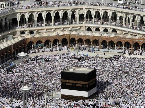 La Mecca, sventato attacco alla Grande Moschea: 11 feriti