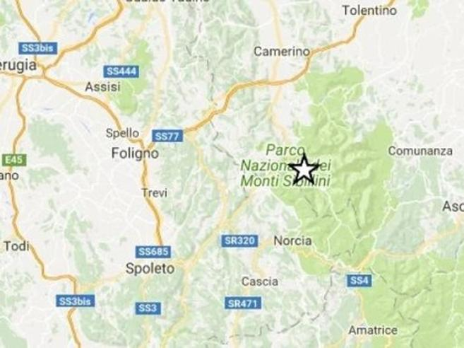 Terremoto,  scossa di magnitudo 3.5Paura nel Maceratese