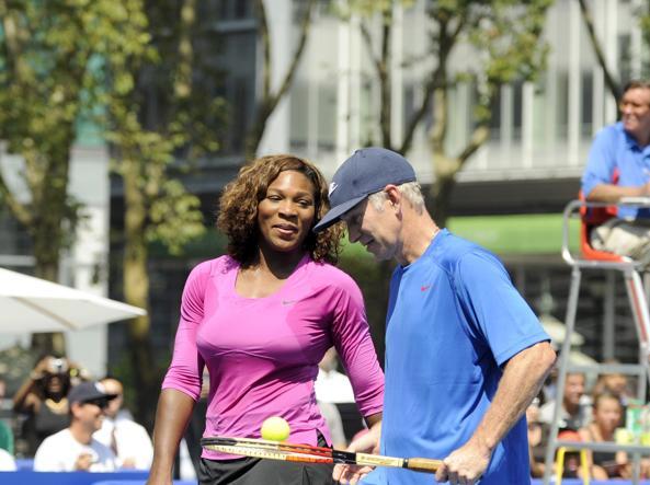 John McEnroe: la Williams sarebbe numero 700 se giocasse con gli uomini
