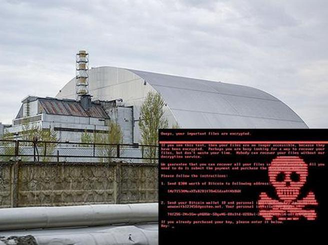 Hacker contro le aziende europee: a Chernobyl colpita la centrale