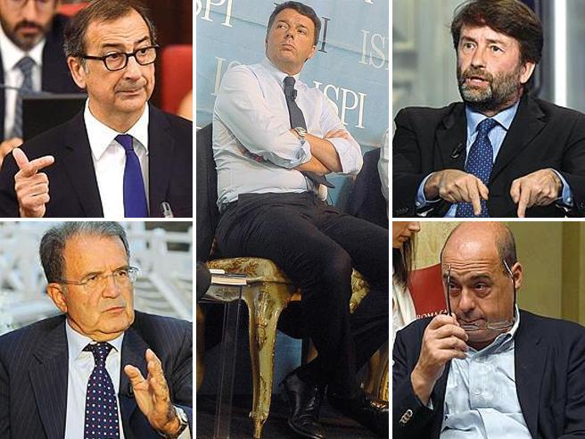 Da Prodi a Sala  le critiche a Renzi E Franceschini:  il Pd non divida