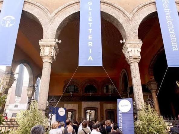 La biglietteria del Festivaletteratura  di Mantova