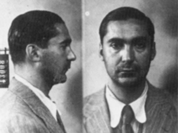 Curzio Malaparte (1898-1957) arrestato dai fascisti nel '33