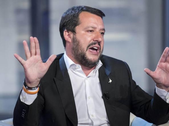 Il segretario della Lega Nord, Matteo Salvini (LaPresse)
