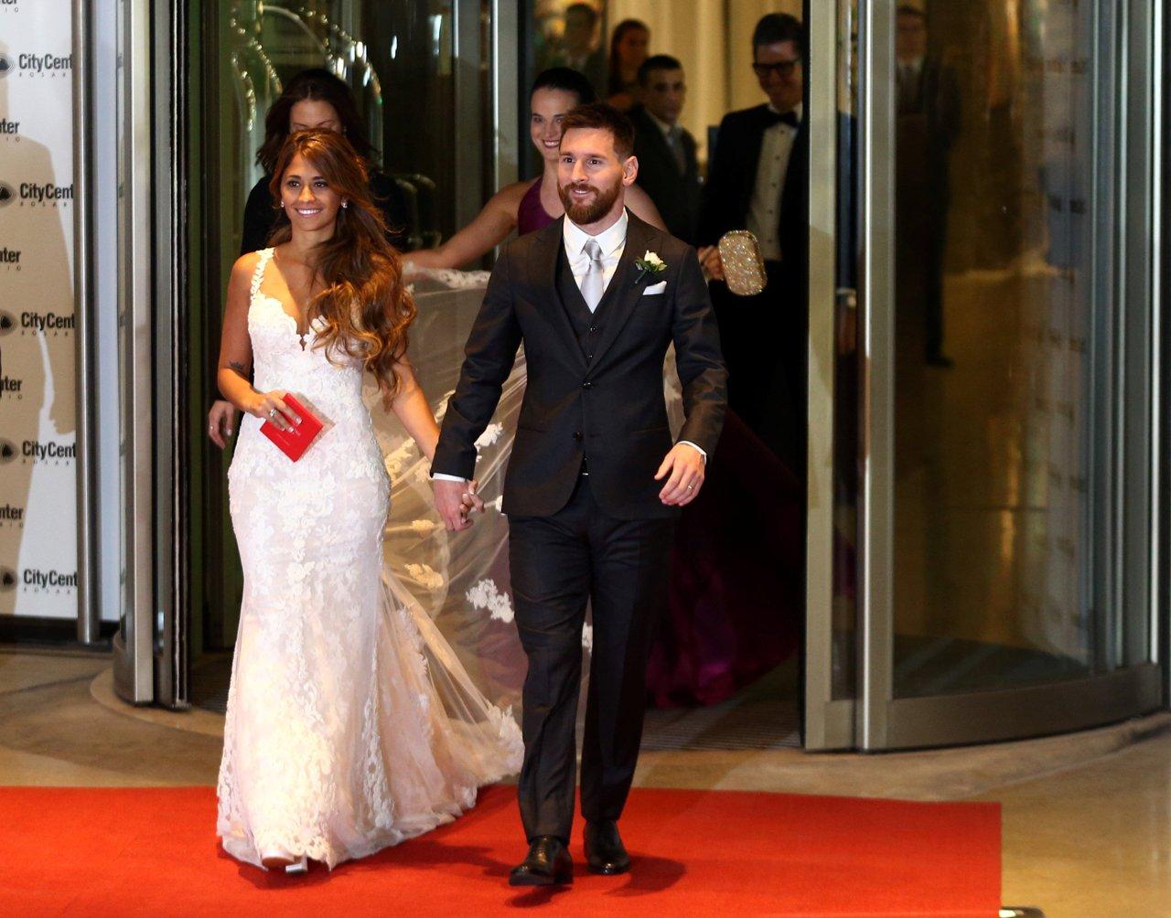 Matrimonio Messi : Il matrimonio di leo messi e antonella i invitati