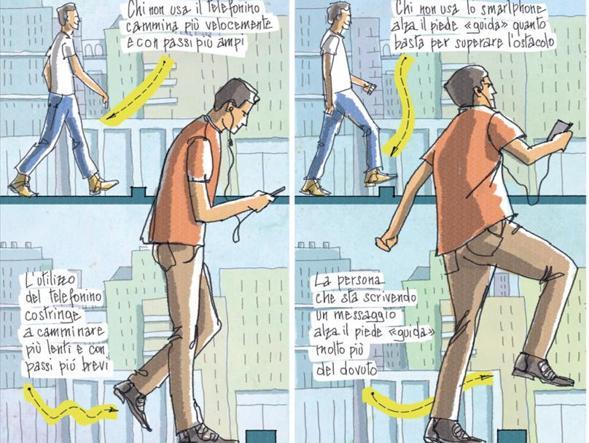 Illustrazione di Emanuele Lamedica per il Corriere della Sera