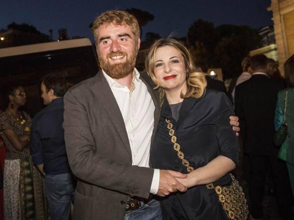 Paolo Cognetti e Teresa Ciabatti (Foto LaPresse)