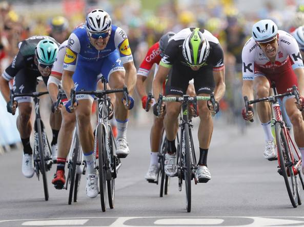 Tour de France 2017, settima tappa: tris di Kittel