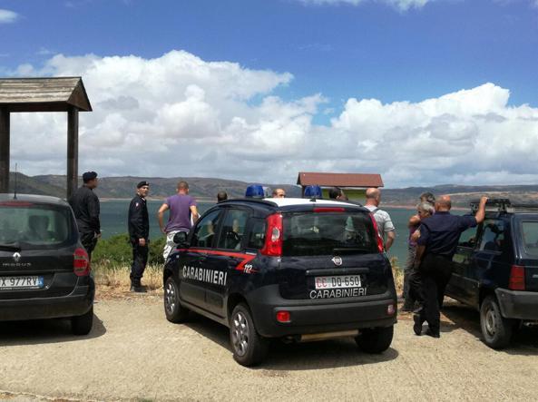 Dispersi in lago Sardegna, trovato corpo