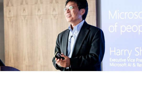 Harry Shum, Executive Vice President of Artificial Intelligence and Research a Microsoft