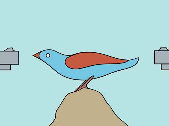 Un dettaglio dell'illustrazione di Massimo  Caccia per «la Lettura» #294