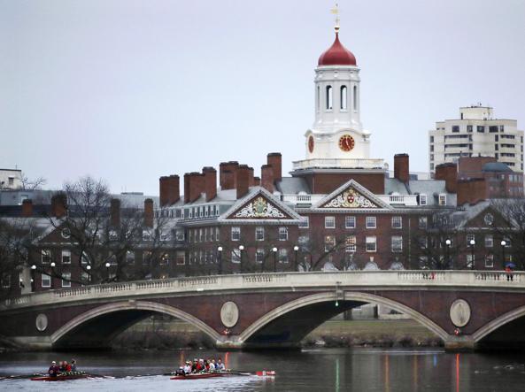Uno scorcio di Harvard (foto Krupa/Ap)