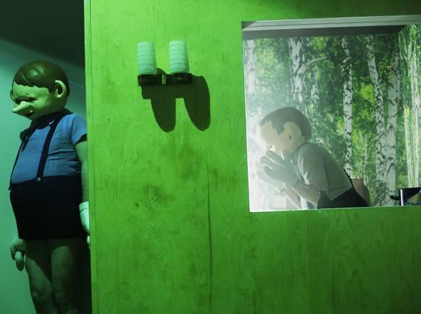 Un'immagine da «Und dann», spettacolo della regista tedesca Claudia Bauer