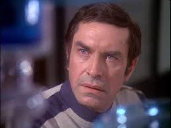 Martin Landau, il comandante Koenig in «Spazio 1999»