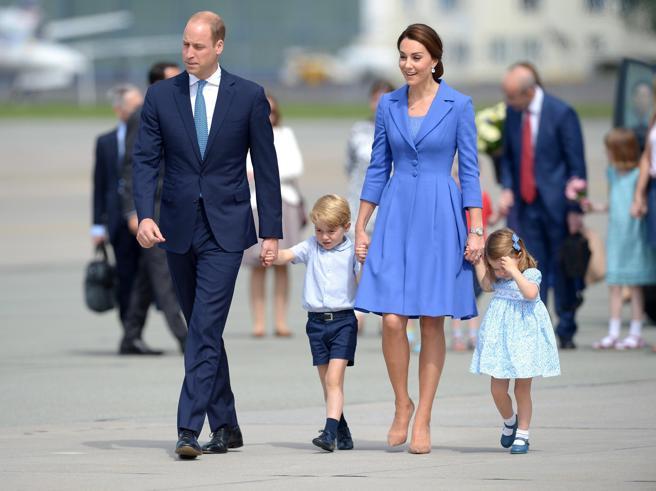 Kate, William e i principini George e Charlotte: il viaggio dei reali in Polonia e Germania