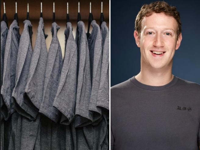 Vuoi vestirti come Zuckerberg? Le sue t-shirt grigie made in Italy (da 400 euro e le fa Cucinelli) ora sono alla portata di tutti